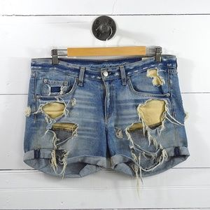 RAG & BONE DISTRESSED SHORTS #177-72